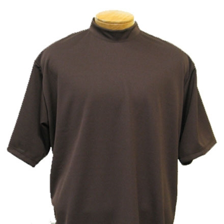 Jockey® Short Sleeve Mock Neck Tee - 2 Pack - The Jockey® Short Sleeve Mock Neck T-Shirt is the one to choose when you need a bit more coverage at the neckline. The ideal baselayer for uniforms, workwear and more, this pure cotton men's T-shirt delivers all-day comfort and a classic, regular fit.4/5(45).