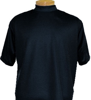 Mock Turtleneck Short Sleeve