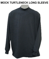 Mock Turtleneck Long Sleeve