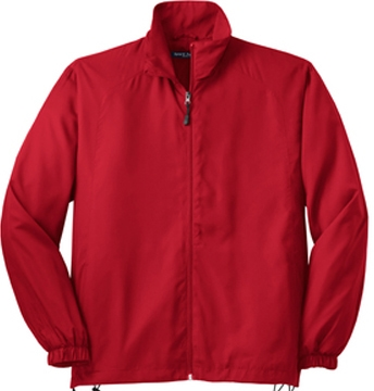 Sport-Tek Full-Zip Wind Jacket- IMPORTED