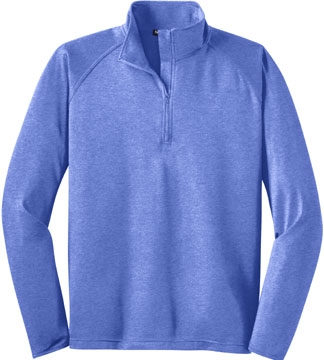 Sport-Wick Stretch 1/4-Zip Pullover-IMPORTED