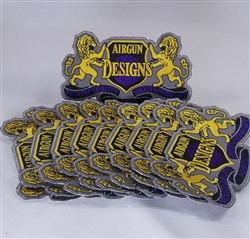 AGD Logo Patch 2020 Version 3x5 - 10 Pack of Patches