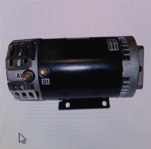 Snorkel Aerial Lift Work Platform Pump Motor 12 24 Volt Dc 5 Hp