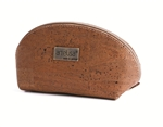 Brown Small Cosmetic Bag