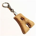 Cork Key Holder Letter A