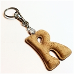 Cork Key Holder Letter R