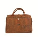 Cork Computer Bag Brown