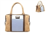 Blue Stripes Trunk Cork Bag