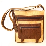 Cork Shoulder Bag Natural