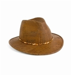 Brown Cork Cowboy Hat