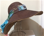 Cork Wide Brim Sun Hat