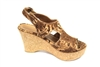 Flower cork wedges