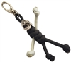 The Skeleton Paracord Man Keychain