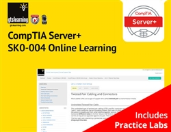 CompTIA Server+ Certification (Exam SK0-004) Online Learning + Online Practice Labs