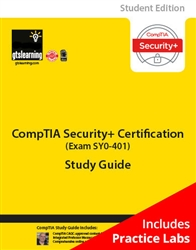 CompTIA Security+ (Exam SY0-401) Student Edition eBook + Live Practice Labs