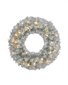 Tinkerbell Silver Wreath  <span>|26"