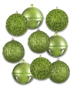 Green with Envy Assorted Ornament Set
