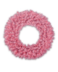 Pretty in Pink Wreath <span>|24"