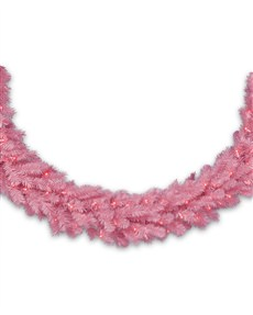Pretty in Pink Garland <span>|10'|12"