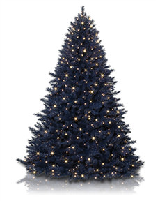 Treetopia - Navy Blue Christmas Tree
