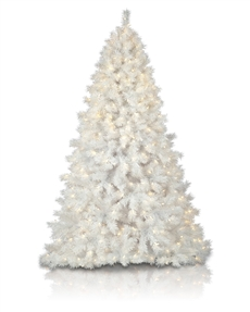 Multicultural White Christmas Tree