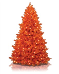 Treetopia - The 100% Orange Christmas Tree #OrangeChristmas