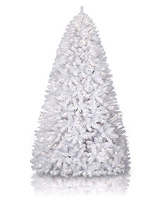 Winter White Artificial Christmas Tree #WhiteTree