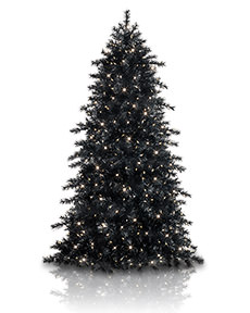 Obsidian Black Christmas Tree