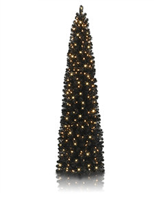 Stiletto Black Pencil Tree #BlackChristmas #PencilTree