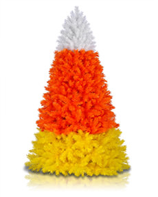 Candy Corn Christmas Tree <span>|7'|Full 46"