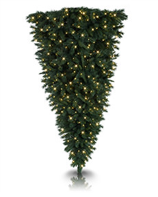 Knocked Upside Down Christmas Tree <span>|7'|Full 50"