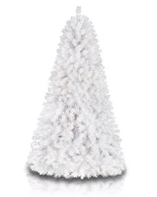 Sparkling White Christmas Tree