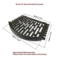 16 inch GRANT HYDRO GRATE CURVED