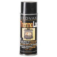 THERMOLAC MATT BLACK PAINT, AEROSOL 400ML