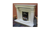 "Bridge 58"" Ivory Micromarble Full Suite"