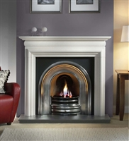 "55"" Asquith Surround: Agean Limestone Surround"