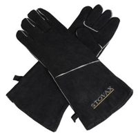 STOVAX LEATHER STOVE GLOVE GAUNTLET (45CM LONG)