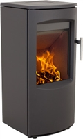 SCANLINE 7A MULTI FUEL STOVE 4.5KW SQUARE SIDES (BLACK)