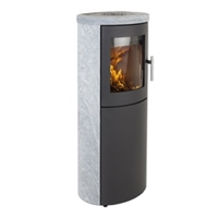 SCANLINE 810 (HIGH ASH DOOR) COMPLETE SOAPSTONE 5.5KW