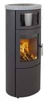 SCANLINE 820 WITH BAKING OVEN AND TOP IN SOAPSTONE 5.5KW