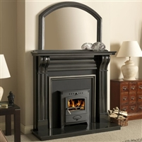 60inch DUBLIN CORBEL BLACK GRANITE SURROUND