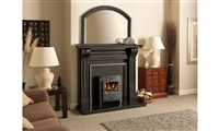 ARCH OVERMANTLE IN BLACK GRANITE