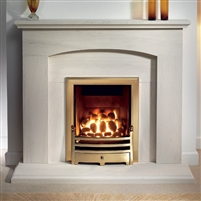 "Cartmel 48"" Full Suite: Polar White (Micormarble)"