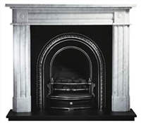 "56"" Chiswick Surround: Cararra Marble"