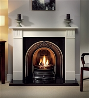"56"" Clarendon Surround Only: Agean Limestone Surround"