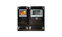 VULCANO 30KW BLACK BOILER COOKER WITH LIDS (NO DRAWERS)
