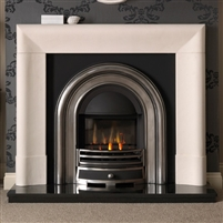 "52"" Delection Surround: Agean Limestone"
