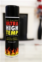 HIGH TEMPERATURE MATT BLACK PAINT, AEROSOL 250ML