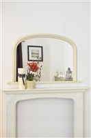 ARCH OVER MANTEL IVORY CREAM