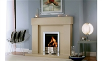 "50"" Ashbourne with Double Back: Marfil Stone Suites"